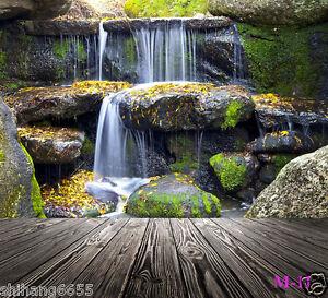 10x20FT Waterfall Vinyl Photography Backdrop Background Studio Photo Props M-11