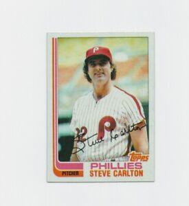 1982 Topps Steve Carlton Baseball Card #480 #Philadelphia Phillies  HOF