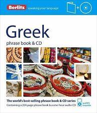 Berlitz: Greek Phrase Book and CD (2012, Paperback)