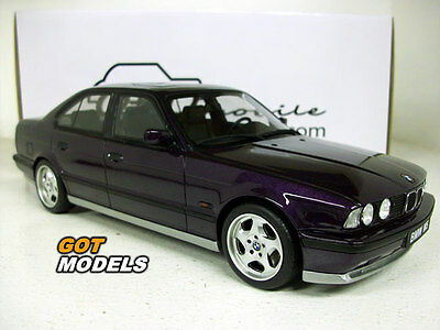 BMW M5 E34 3.8 340 BHP - 1/18 SCALE RESIN MODEL CAR BY OTTOMOBILE IN VIOLET