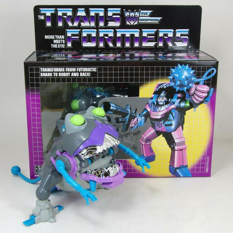 Transformers Sharkticon Sharkticon Sharkticon  G1 Re-issue Brand NEW COLLECTION MISB  Toys & Gifts 09c850