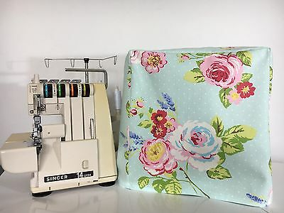 ❤️Clarke /& Clarke   ❤️ Bird Trail Shabby Chic  Sewing Machine Dust Cover