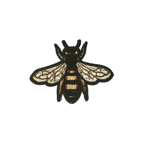 Bee Iron On Patch Manchester MCR Embroidered Applique Sew BNWT//NEW Gift