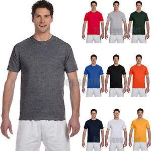 fc0e2c78b Champion Mens Short Sleeve T Shirt Cotton Tee S M L XL 2XL 3XL T425 ...