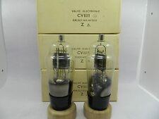 CV1111 VU111 10E/146 U27 Mullard Rectifier Tube Pair NOS KT88 KT66 EL34 274A 5u4