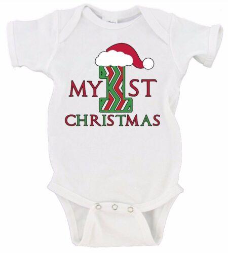 My First 1st Christmas Santa Hat Merry Christmas Gerber Onesie Christmas Gift