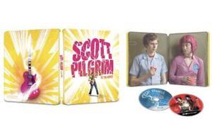 Scott Pilgrim vs. The World Steelbook (4K UHD+Blu-ray+Digital) Sealed PRE-ORDER