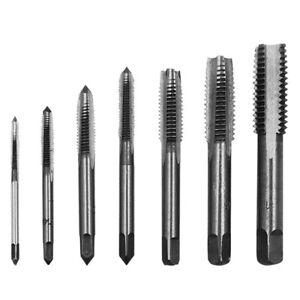6pcs-set-Hand-Tap-Hex-Shank-HSS-Screw-Spiral-Point-Thread-Metric-W