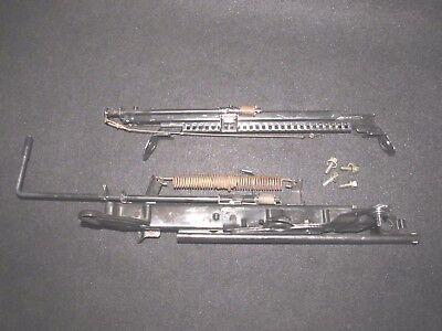 97-01 Honda Prelude OEM front seat rails mounting brackets mounts tracks x2