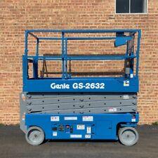 Fully Refurbished Genie Gs 2632 Electric Scissor Lift Win Win Equipment