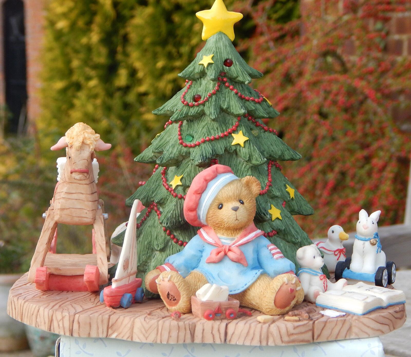 Cherished Teddies - Graham - Ltd Ltd Ltd Edition - Christmas - New In Box eada38