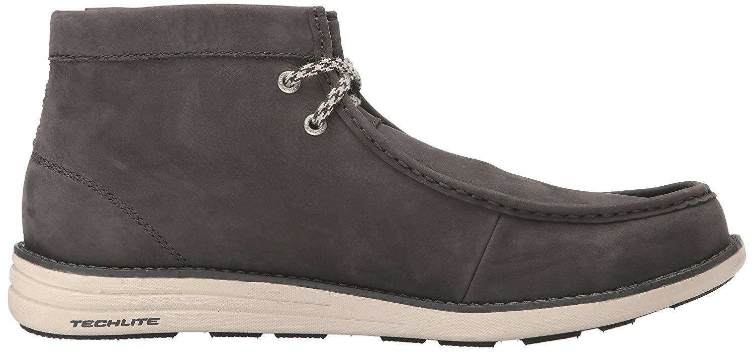 COLUMBIA men STEVENSON WALLABY LTR LTR LTR Waterproof Leather CHUKKA Stiefel Lace Fawn 9 M 90c352