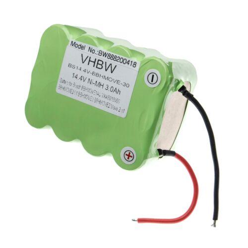 Batterie 3000mAh pour Bosch BBHMOVE3AU//03,BBHMOVE2N//01,BBHMOVE3N//01