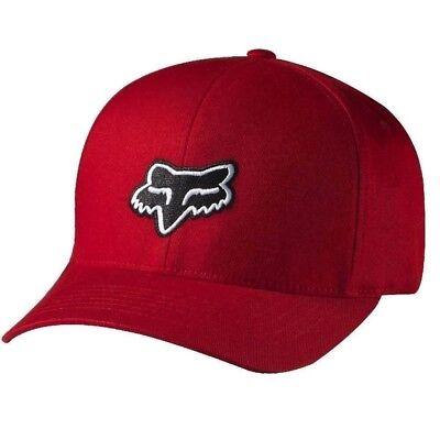 Fox Racing Cap Hat Legacy Flexfit Hat Red L/XL 58225-003
