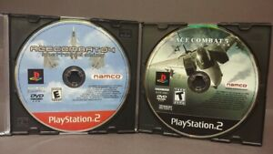 Ace-Combat-4-5-Skies-War-Playstation-2-PS2-Game-Lot-Tested-Working