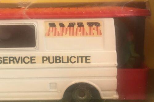 Solido Ancien Vehicule Du Cirque Amar N° 3