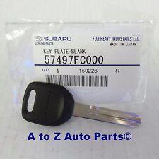 NEW Subaru Impreza, WRX, STi, Legacy,Forester, Outback,Baja, Steel Key Blank,OEM
