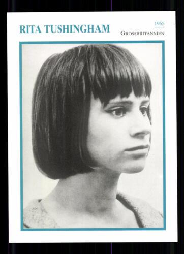 80er Jahre TOP G 22070 Rita Tushingham STARPORTRAITKARTE