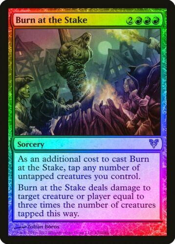 Burn at the Stake FOIL Avacyn Restored NM Red Rare MAGIC MTG CARD ABUGames