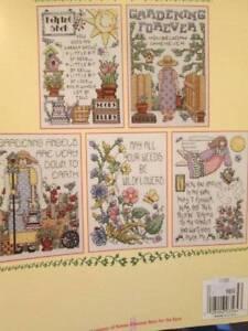 Come to the Garden XS4008 Teresa Kogut CW Samplers Cross Stitch Chart Pattern