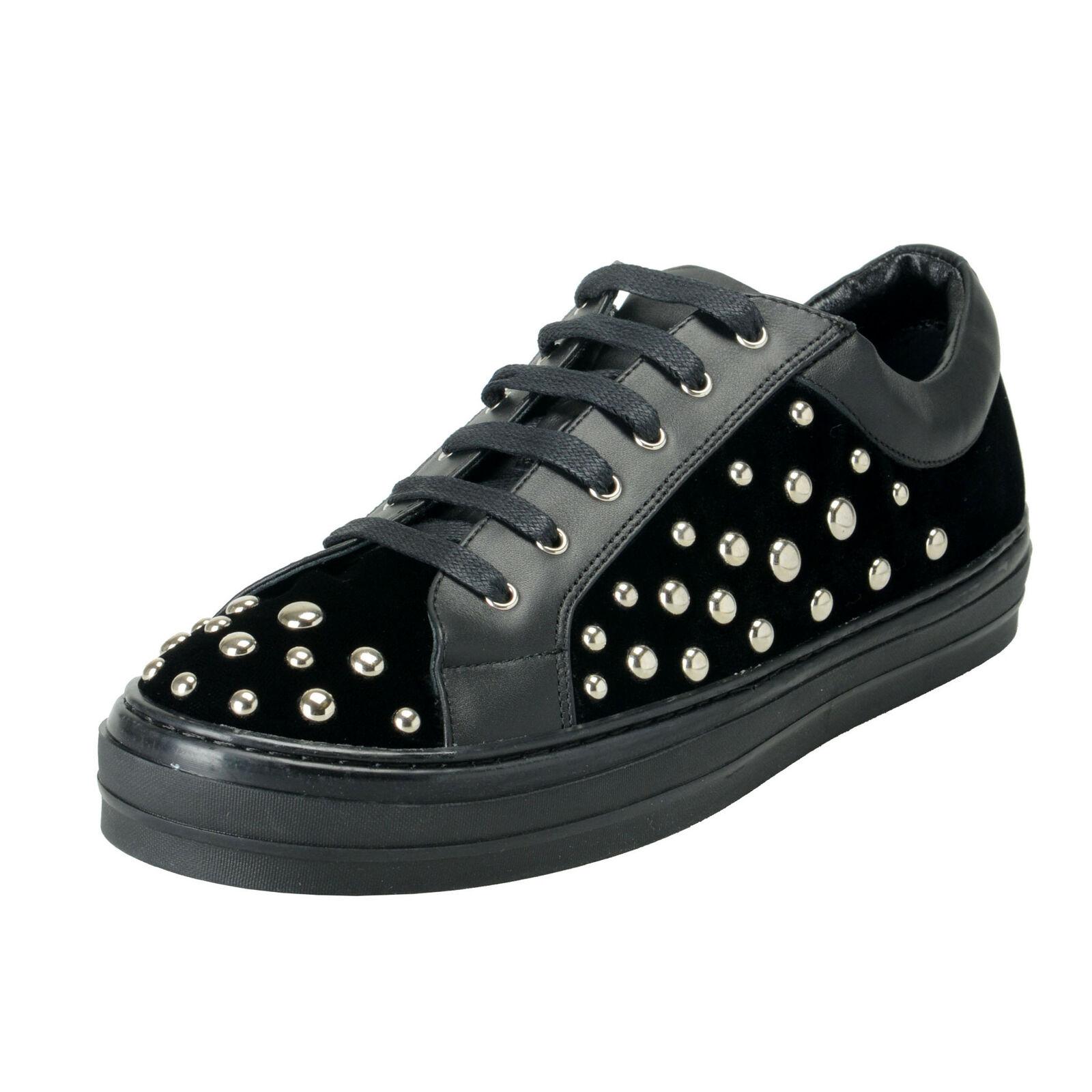 Salvatore Ferragamo Women's  LIU ROCK  Fashion Sneakers shoes Sz 8.5 9 9.5M