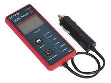 Sealey Car/Van 12v LCD Battery/Alternator Voltage Tester System Analyser AK500