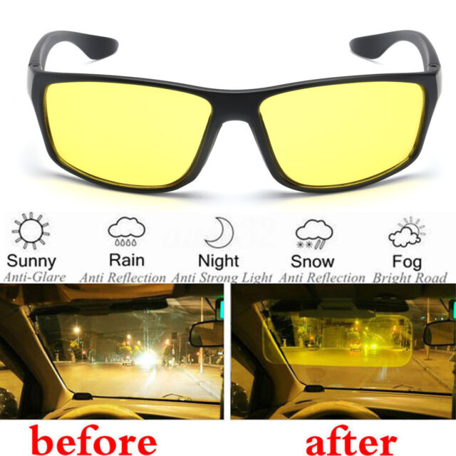 a607aff3660f7 Frequently bought together. Unisex Night Driving Glasses Anti Glare Vision  Driver UV Protection Sunglasses