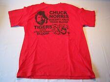 Chuck Norris Short Sleeve T-shirt Vintage Men's Size L