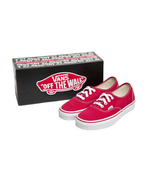 New Vans Authentic rot Men Canvas Turnschuhe Classic Casual schuhe VN-0EE3rot