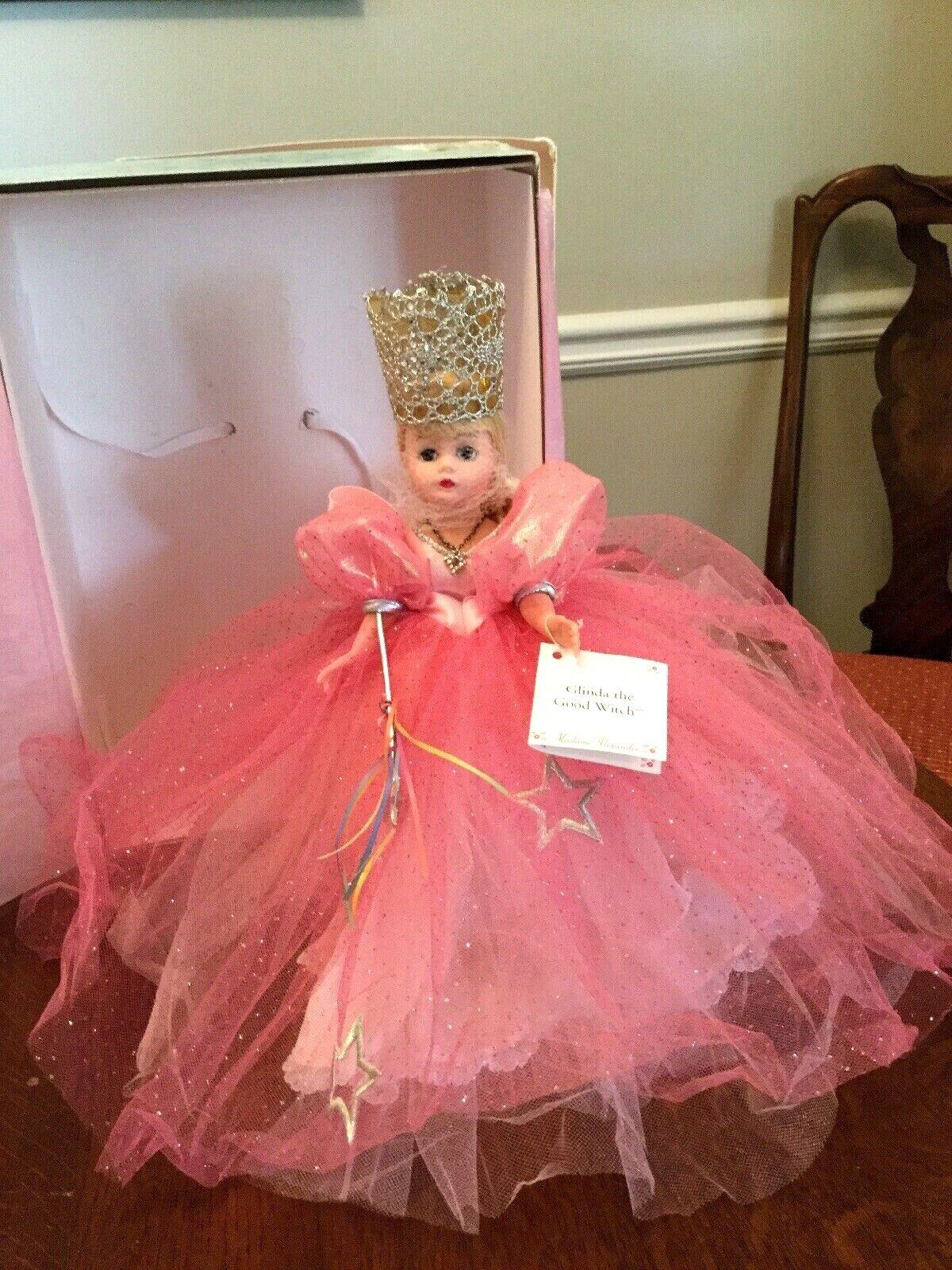 Madame Alexander 1997 Glinda la bruja buena 10  Muñeca Mago de Oz