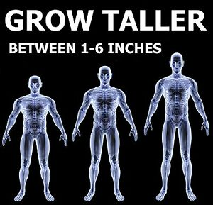 Gain Height Now - be up to 6 inches Taller