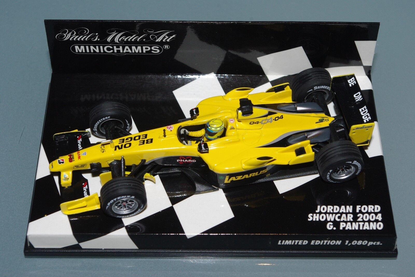 Minichamps F1 1 43 Jordan Ford Car 2004-G. Pantano-Limited Edition 1080p