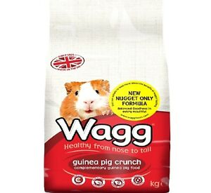 WAGG-GUINEA-PIG-CRUNCH-2kg-10kg-Animal-Nuggets-Pet-Food-bp-Treats-Feed-k