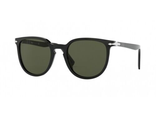 Sonnenbrille Persol Authentic PO3226S Schwarz 95//31 Grün