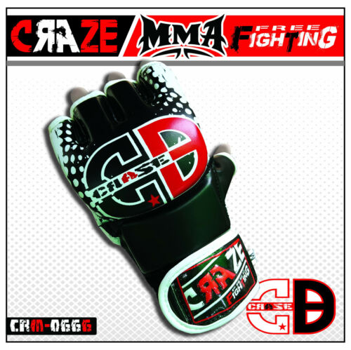 Sparring Grappling UFC Gloves MMA Fighting Punch PU Leather Bag Mitts Hand Wraps