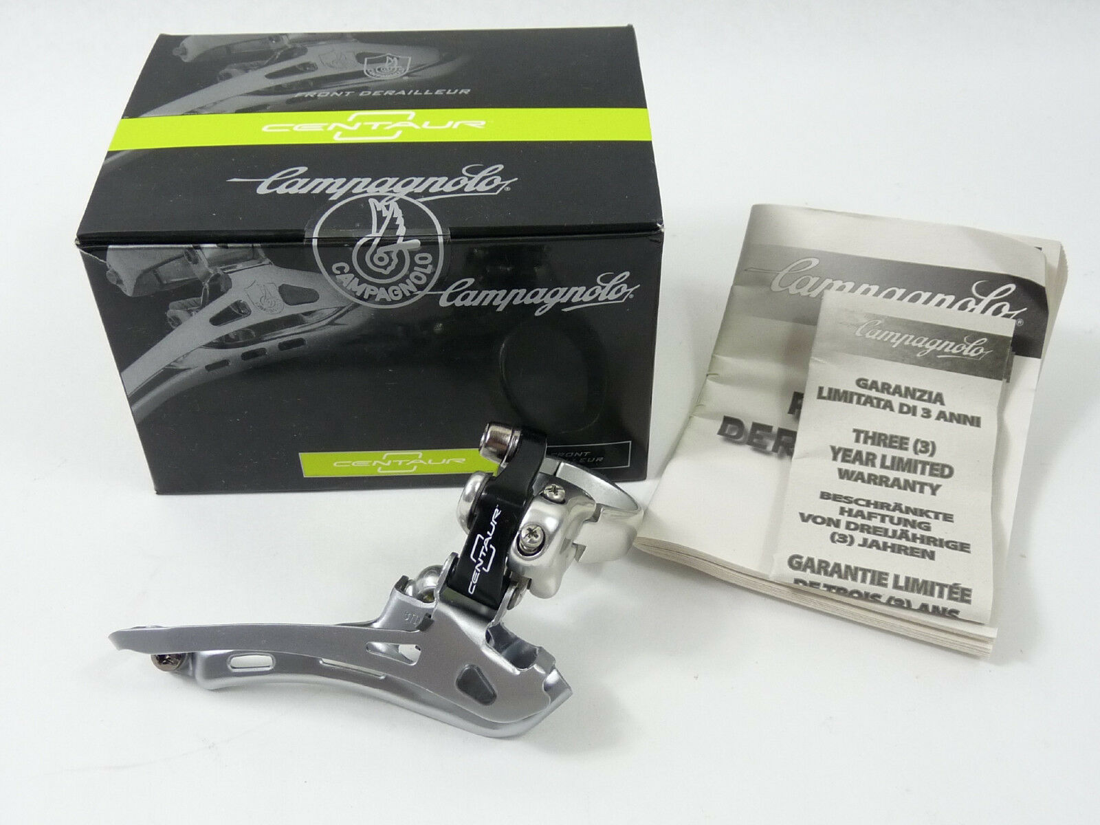 Campagnolo Centaur front derailleur 10 speed clamp Vintage Bike 35mm 2011 NOS