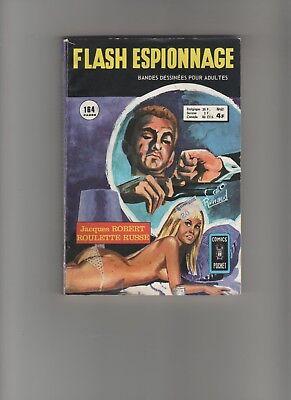 Ambicioso Bd Flash Espionnage Roulette Russe J. Roberts 1974 Aredit
