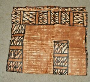 SOLOMON ISLANDERS TRADITIONAL BARK TAPA CLOTH FOR WALL TABLE OR FLOOR LOT B