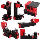 Mini Multipurpose Machine 6 In 1 DIY Tool Kit Wood Metal Lathe Milling Driller