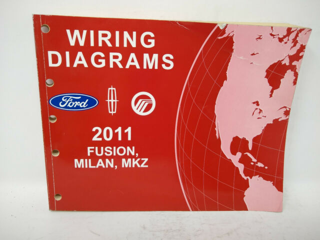 Oem 2011 Ford Fusion Lincoln Mkz Mercury Milan Wiring