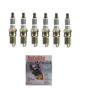 6-Doble-Platino-Bujias-Chevrolet-Astro-Blazer-Tahoe-Gmc-Safari-Yukon-4-3-L
