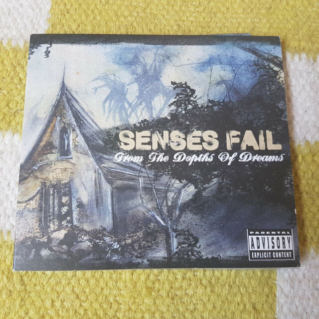 Senses Fail - From The Depths Of Dreams CD (Drive-Thru Records) Near Mint