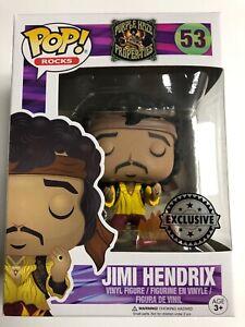 FUNKO pop vinyl JIMI HENDRIX rocks mint