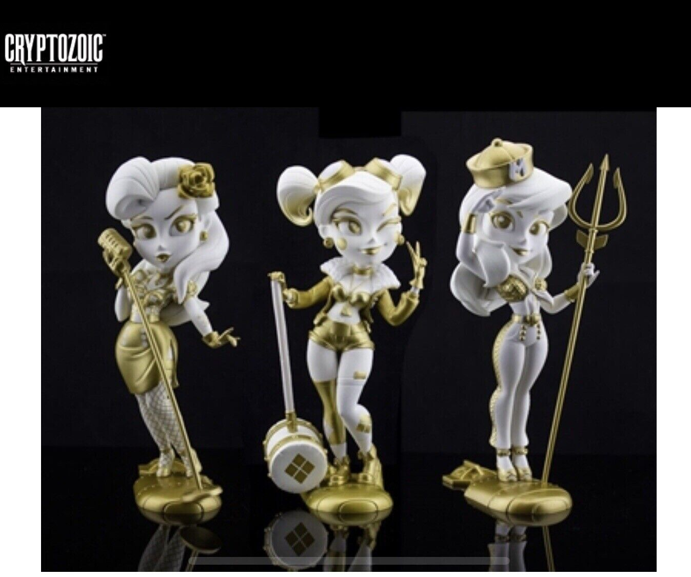 Cryptozoic golden Goddess DC Bombshells Series 3 2019 SDCC Exclusive IN HAND
