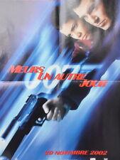 Affiche de Cinéma Poster Meurs un autre jour 007 Halle Berry & Pierce Brosnan