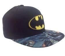 item 1 New Men s Batman DC Comics Dark Knight Snapback Hat Baseball Cap  Black Graphic -New Men s Batman DC Comics Dark Knight Snapback Hat Baseball  Cap ... bc22d21edd83