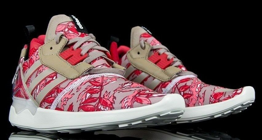 ADIDAS ORIGINALS mens ZX BOOST 8000 RED/KHAKI camo  mens ORIGINALS SHOES SIZE 10 459d66