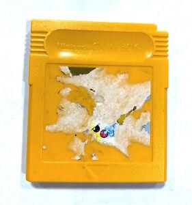 ***Pokemon Yellow Version AUTHENTIC w/ New Save Battery! NINTENDO GAME BOY***