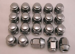 20-New-Jeep-Compass-Patriot-Factory-OEM-Polished-Stainless-Lug-Nuts-Lugs-12x1-5