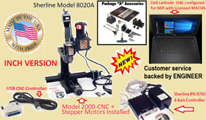Sherline Mill /& Lathe profiles Windows USB-CNC 16G USB Support available
